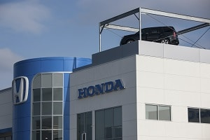 Honda motors building