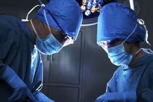 doctors performing surgery