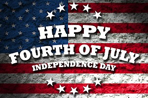 Happy Fourth of July graphic