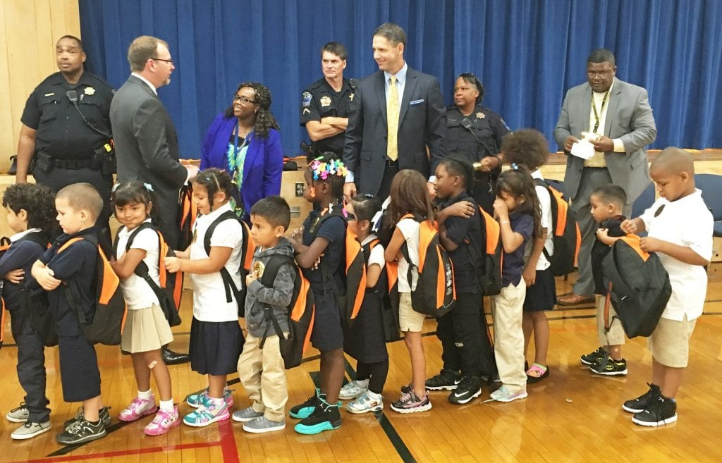 graves mclain backpack program, community engagement, school supply drive, north tulsa, tulsa personal injury lawyers
