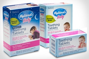 Box of Teething Tablets