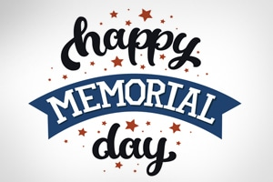 Happy Memorial Day graphic