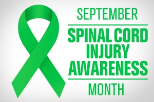 September is Spinal Cord Awareness Month