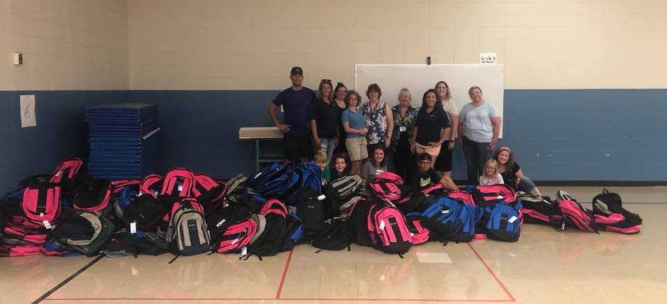 2018 Backpack Program group photo