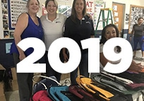 2019 Graves Backpack Program group photo