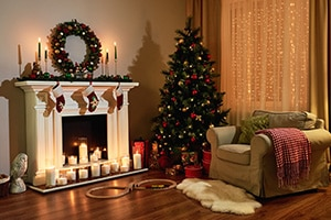 home-decorated-for-Christmas