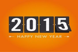 Happy New Year 2015 graphic